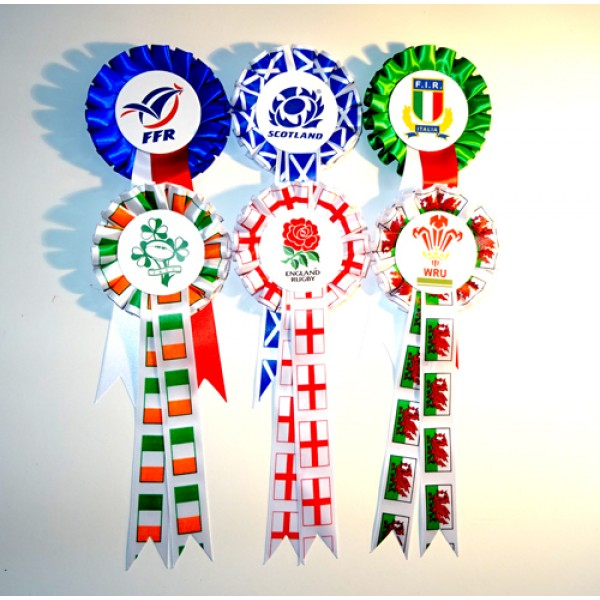 Rugby Rosettes