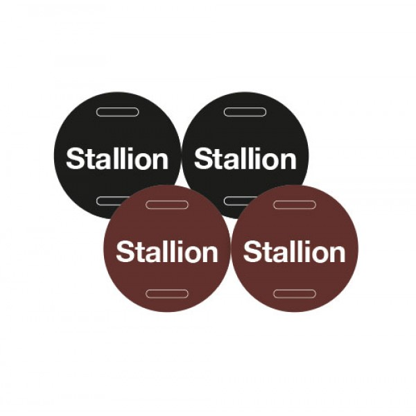 Laminated Stallion ID Discs (Pack of 2)
