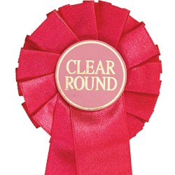 Clear Round Mini Rosettes