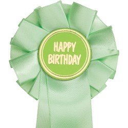 Happy Birthday Mini Rosettes (pack of 10)