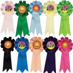 Little Stars Mini Rosettes (Pack of 10)