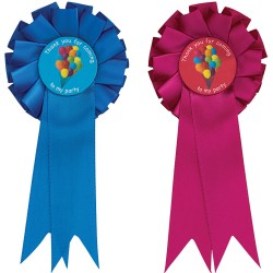 Thank you for coming to my party Mini Rosettes (Pack of 10)