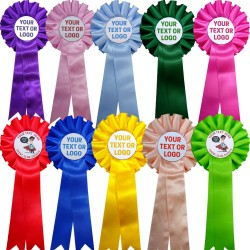 Personalised Rosettes (10 Pack)