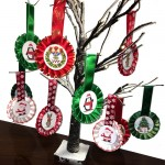 Christmas Tree Decorations (Pack of 5)
