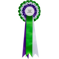 Votes for Women Suffragette Rosette