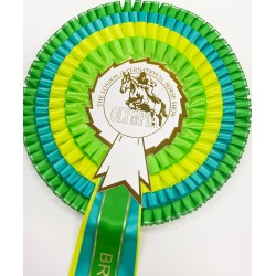 Olympia Personalised Souvenir Rosette - XL