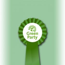 Green Party Single Tier Rosette