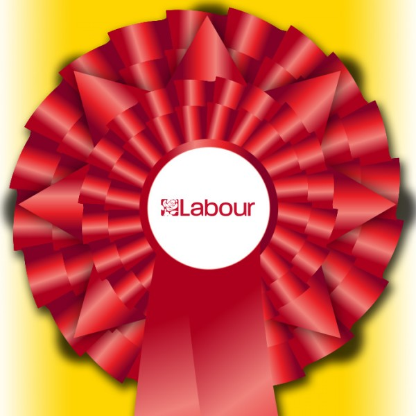 "Labour ""Election Night Special"" Rosette"