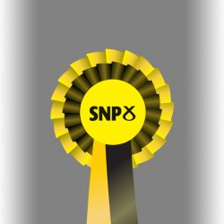 SNP Party Two Tier Rosette