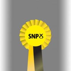 SNP Party Single Tier Rosette