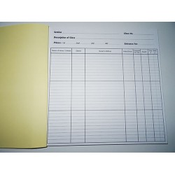 Entry Books (Equestrian) in duplicate 36 Class Books