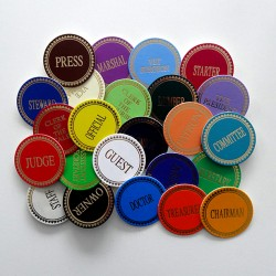 Stock Lapel Badges