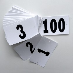 Competitors Waist Numbers (CN1A)