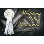 Personalised Wedding Day Keepsake Rosette